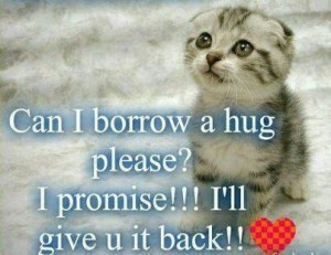 Hug please