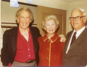Dottie with Vincent and Bob