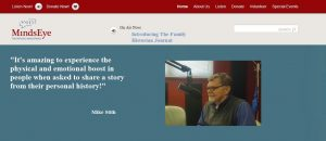 Image of MindsEye radio interview of One Legacy's founder Mike Stith